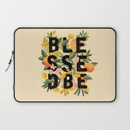 BLESSED BE LIGHT Laptop Sleeve