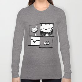 minima - IA - catnap Long Sleeve T-shirt