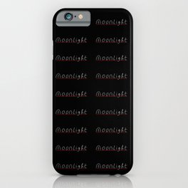 moonlight- moon,night,nocturne,luna,romantic,Claro de luna. iPhone Case