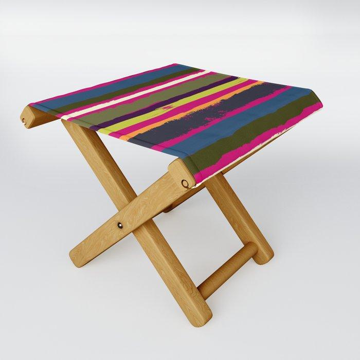 Spurious Rainbow Folding Stool