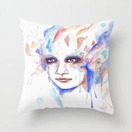 The jest Throw Pillow