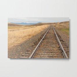 Iron Trail Metal Print
