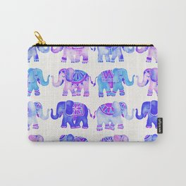 Elephant Collection – Indigo Palette Carry-All Pouch