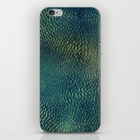 scales iPhone & iPod Skins featuring Scales by Simona Sacchi