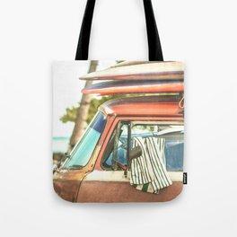 Surf Van Maui Hawaii Tote Bag