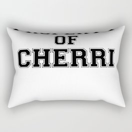 Property of CHERRI Rectangular Pillow