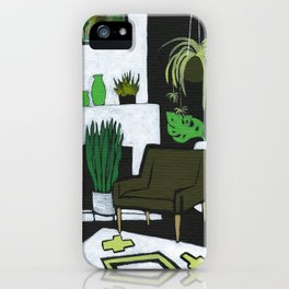 The Green Room iPhone Case