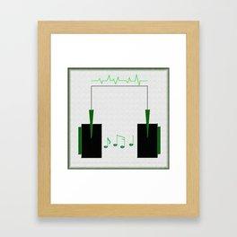 Life=Music Framed Art Print