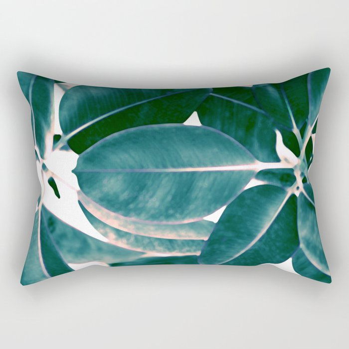 Tropical abstract(7). Rectangular Pillow