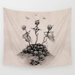 Skulls & Crosses - Pirate Conquest Wall Tapestry