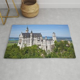 Wonderful Romantic Neuschwanstein Castle Schwangau Bavaria Germany Europe Ultra HD Rug