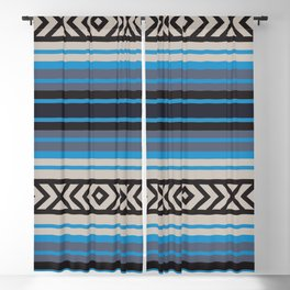American Native Pattern No. 156 Blackout Curtain