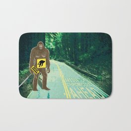 Sasquatch Crossing Bath Mat
