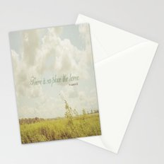 There is no place like home -The Wizard Of OZ Stationery Cards