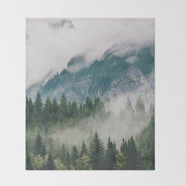 Vancouver Fog Throw Blanket