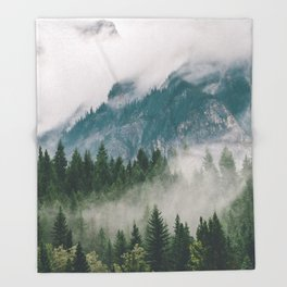 Vancouver Fog Throw Blanket
