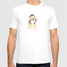 Ana SMALL White Mens Fitted Tee