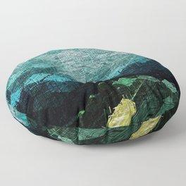Bimorphic Geometry Floor Pillow