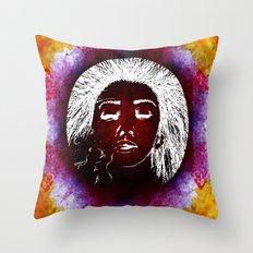 Breathe Kaleidoscope  Throw Pillow