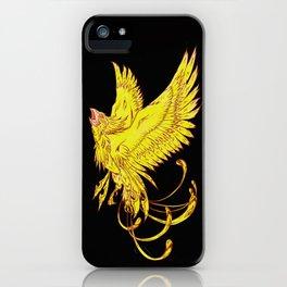 Bird of Fantasy Phoenix iPhone Case