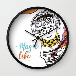 Magic Life Wall Clock