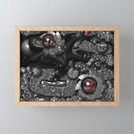Mechanical eyesight Framed Mini Art Print