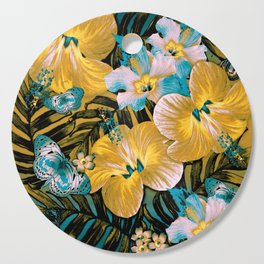 Golden Vintage Aloha Cutting Board