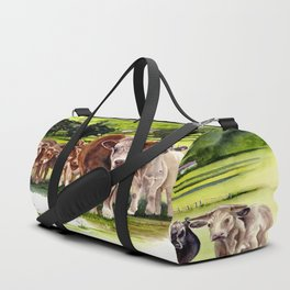 Herd It Throught the Grapevine Duffle Bag