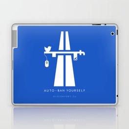 AutoBan Yourself Laptop & iPad Skin