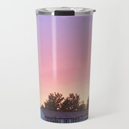 Sunset after the Storm Travel Mug