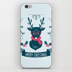 Deer Christmas iPhone & iPod Skin