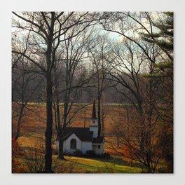 Chapel Valley Canvas Print
