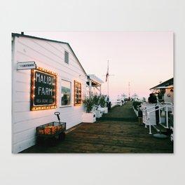Malibu at Sunset Canvas Print