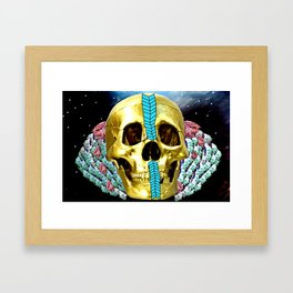bill in space Framed Art Print