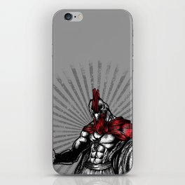 the warrior  iPhone Skin