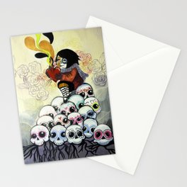 """Sugar Skull Song: You are Where You are Because of Them"" 2011 Stationery Cards"