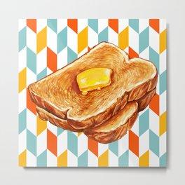 Toast Metal Print