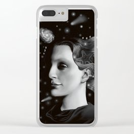 Woman from Stars Clear iPhone Case