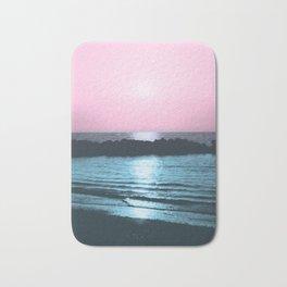 Sunset Ocean Bliss #5 #nature #art #society6 Bath Mat