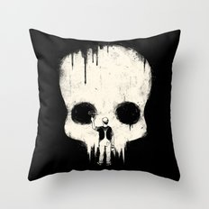 Paint it Black Throw Pillow
