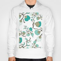 wallpaper Hoodies featuring Wallpaper floral by cactus studio