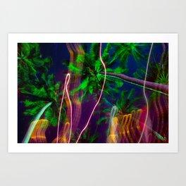 Palm Visions Art Print