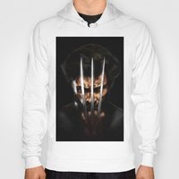 x men Hoodies featuring x men by Fila Venom Art
