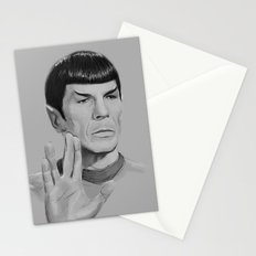 Spock Portrait Star Trek Stationery Cards
