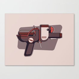 The liquified laser launcher Canvas Print
