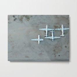 Avion Metal Print