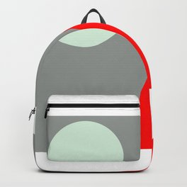 Red Mountains and Moon Backpack