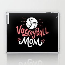 Volleyball Mom. - Gift Laptop & iPad Skin