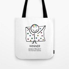 WINNER by ISHISHA PROJECT Tote Bag