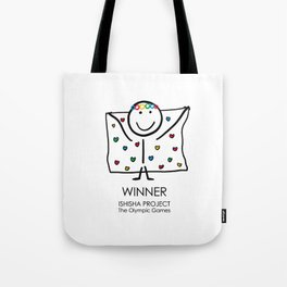 WINNER by ISHISHA PROJECT Tote Bag